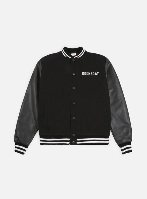 Bomber Jackets Doomsday Free Mind Varsity Jacket