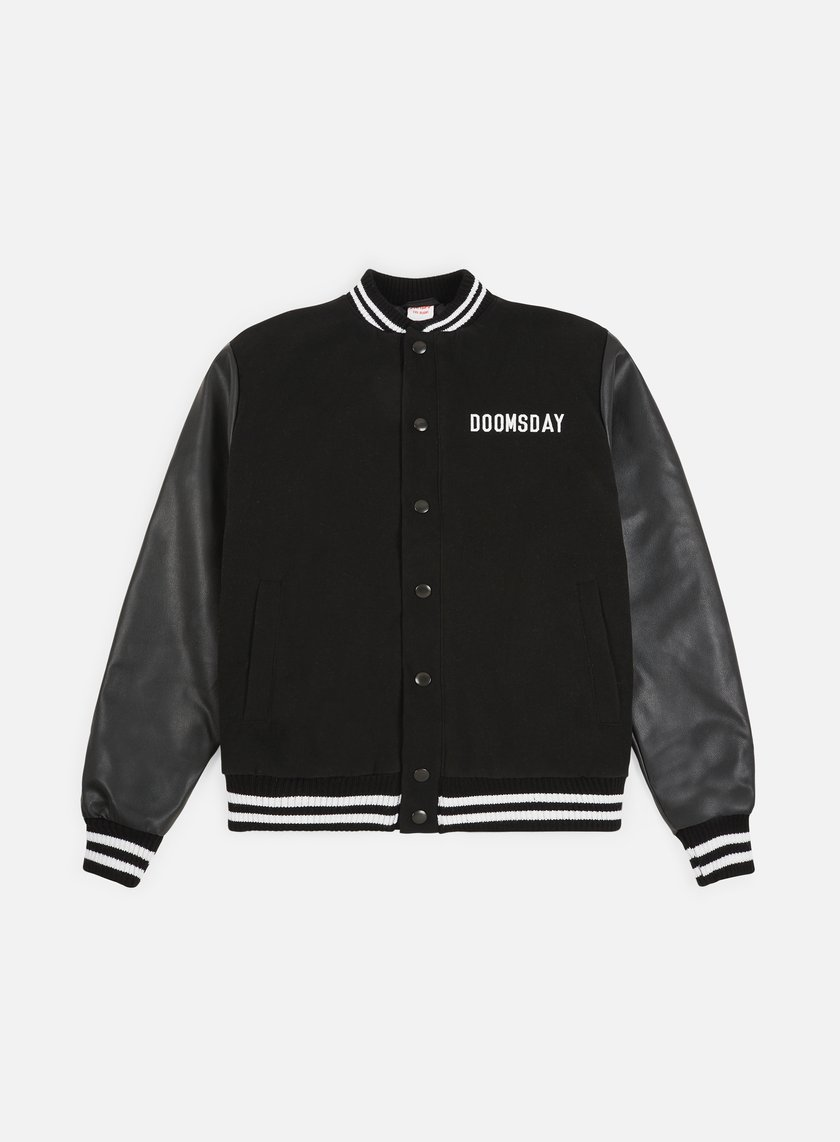 Doomsday - Free Mind Varsity Jacket, Black