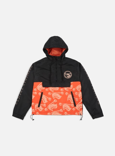 Anorak Doomsday Hammerhead Camo Hooded Jacket