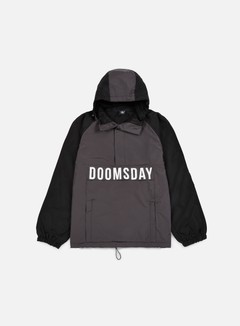 Doomsday - Hammerhead Windbreaker, Black/Dark Grey