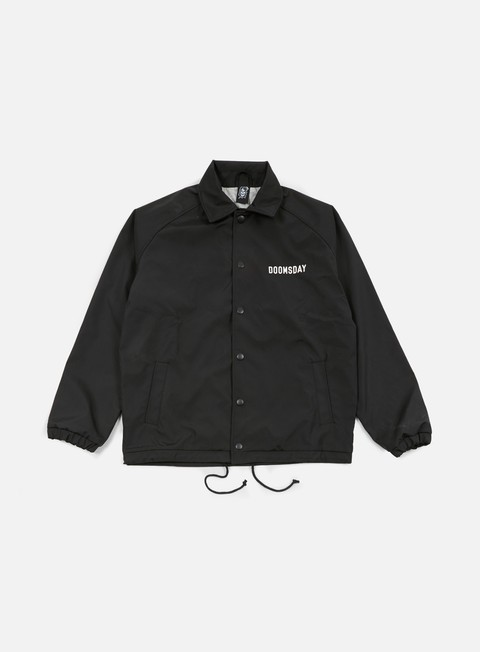 giacche doomsday no mercy coach jacket black
