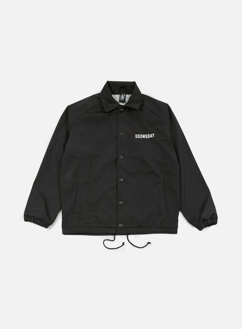 giacche doomsday no mercy coach jacket black