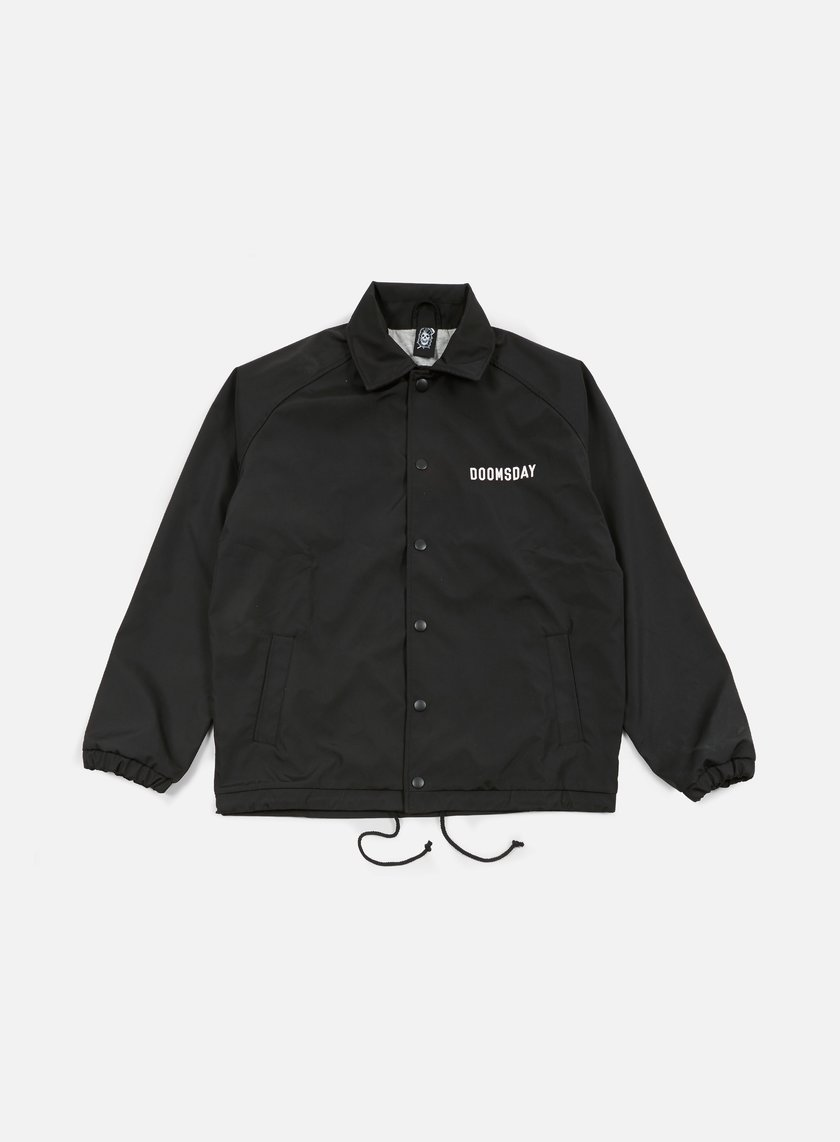 Doomsday - No Mercy Coach Jacket, Black