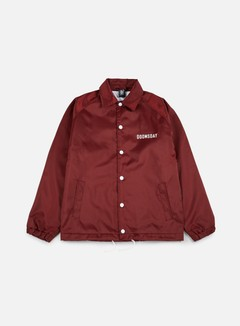 Doomsday - No Mercy Coach Jacket, Burgundy