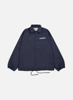 Doomsday - No Mercy Coach Jacket, Navy 1