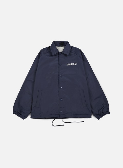 giacche doomsday no mercy coach jacket navy