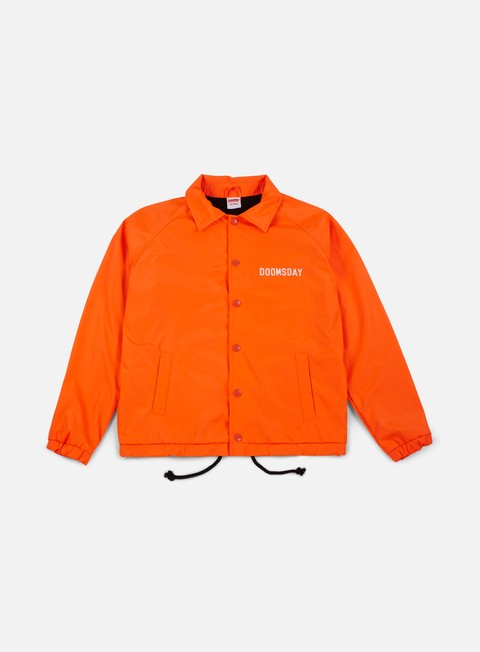 giacche doomsday no mercy coach jacket orange