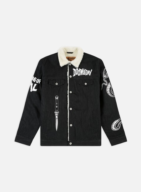 Winter Jackets Doomsday Omen Denim Jacket