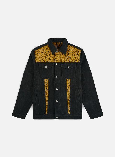 Sale Outlet Denim Jackets Doomsday Reopard Denim Jacket