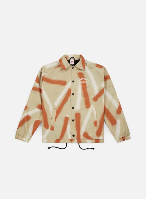 giacche doomsday spray camo coach jacket desert