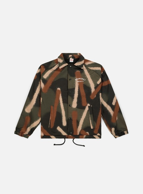 giacche doomsday spray camo coach jacket woods