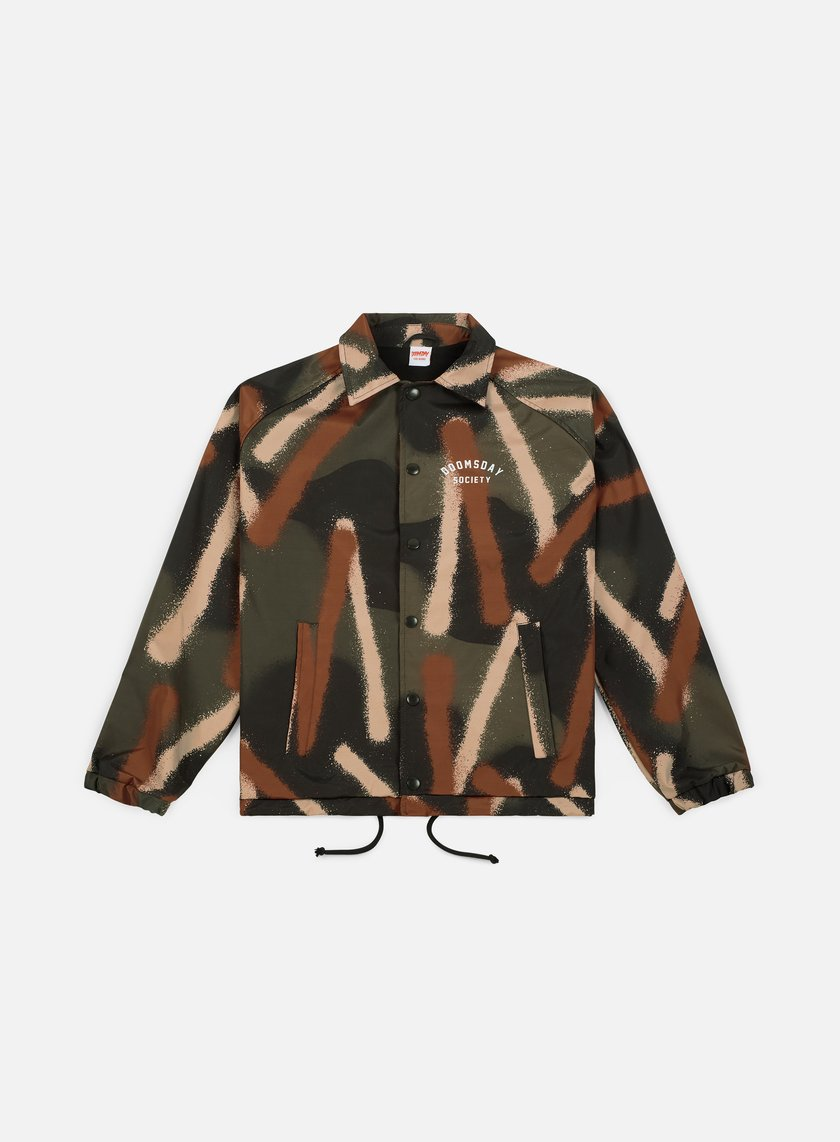 Doomsday Spray Camo Coach Jacket