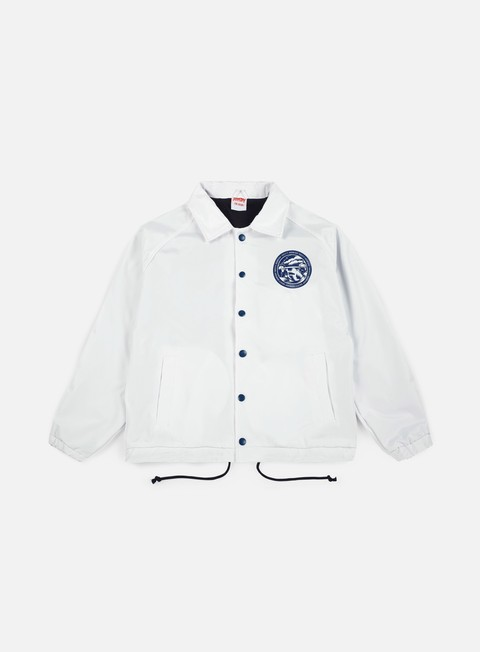 giacche doomsday storm coach jacket white