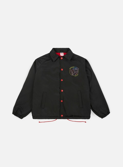 giacche doomsday strip club coach jacket black