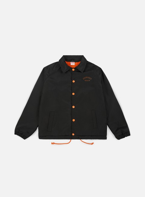 giacche doomsday twiny coach jacket black