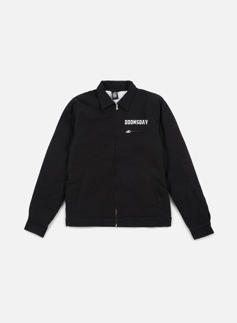 giacche doomsday twiny work jacket black