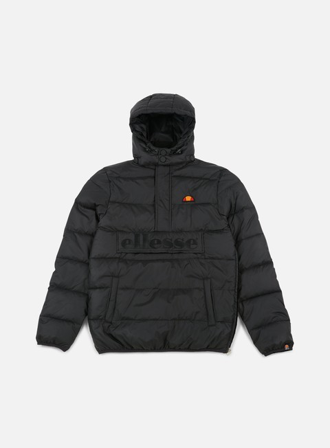 giacche ellesse filardi half zip jacket anthracite