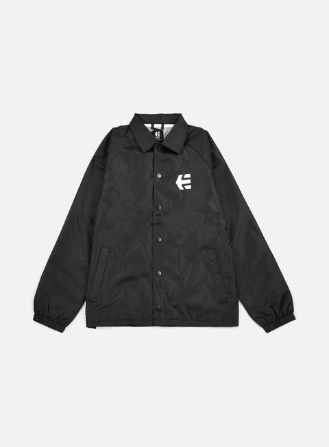 giacche etnies marana coach jacket black
