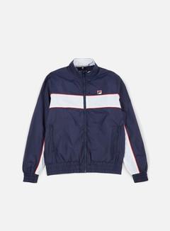 Fila - Amauri Track Jacket, Peacoat/White 1