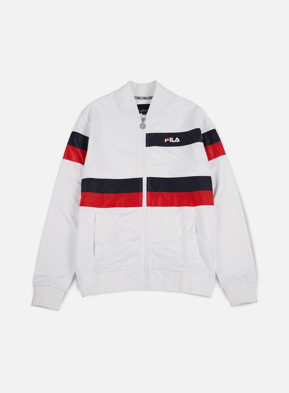 Fila - Carillo Bomber Jacket, White