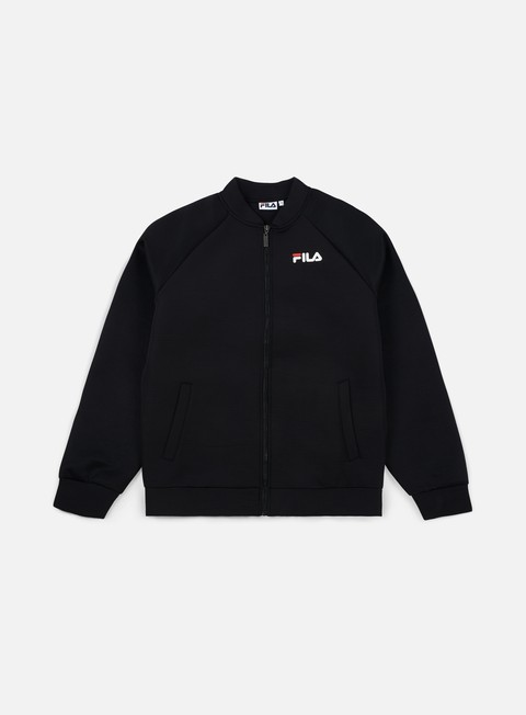 giacche fila hunter track bomber jacket black