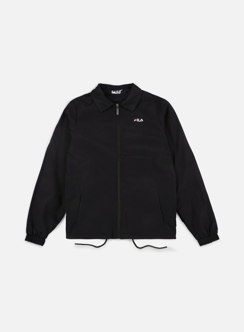 giacche fila jeremy coach jacket black
