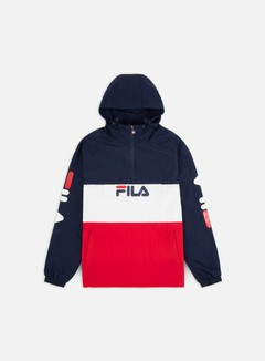 Fila - Ladislaus Anorak, Black Iris/True Red/Bright White