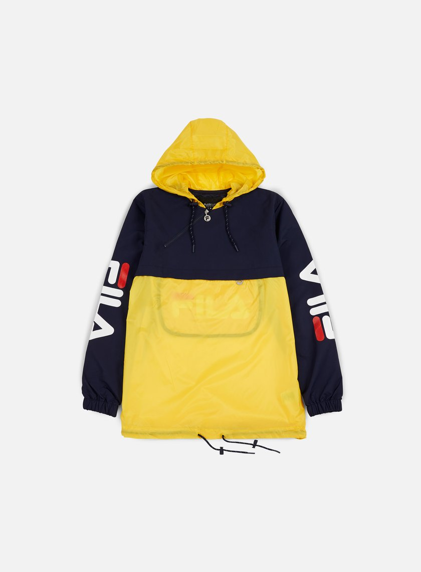 Fila - Ludo Half Zip Jacket, Freesia Yellow