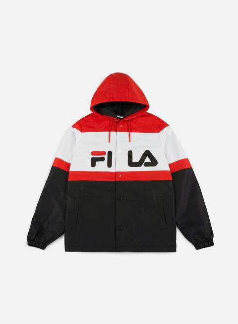 Light Jackets Fila Marten Hooded Coach Jacket