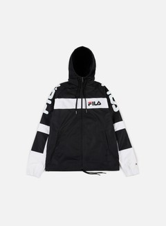 Fila - Mason Windbreaker, Black/Bright White/Black 1