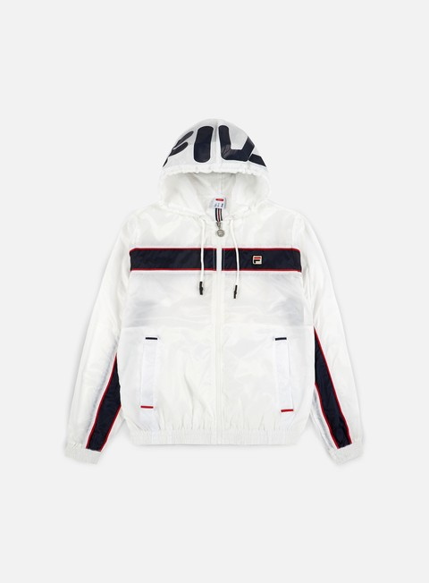 giacche fila match jacket white