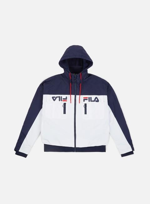 giacche fila murray ski style jacket white peacot