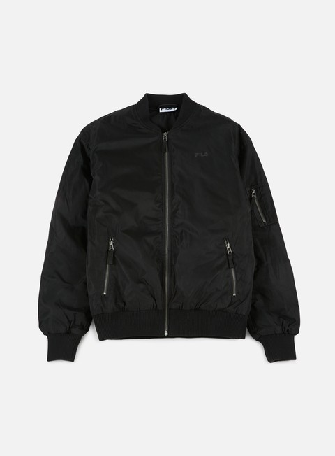 giacche fila reach bomber jacket black