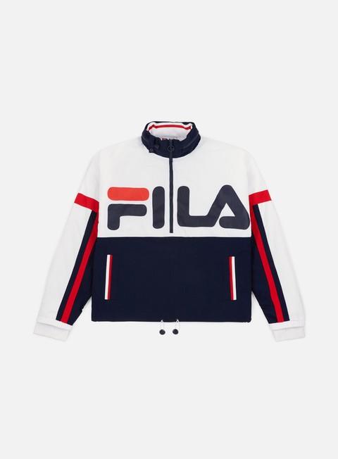 Outlet e Saldi Giacche con cappuccio Fila Riker FZ Foldaway Jacket