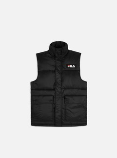 Fila - Salo Puffer Vest, Black