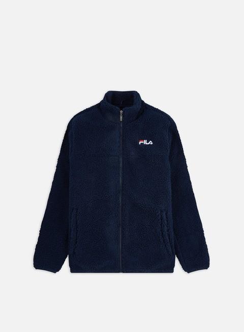 Giacche intermedie Fila Satoshi Sherpa Fleece Jacket