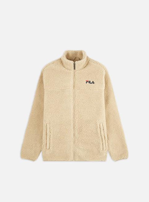 Felpe in pile Fila Satoshi Sherpa Fleece Jacket