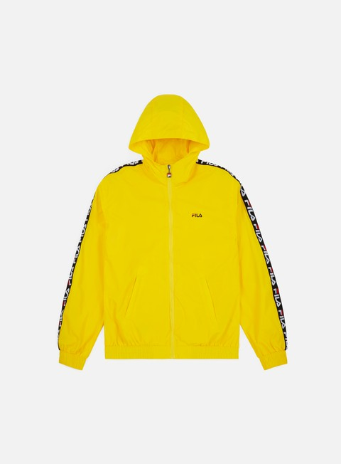 giacche fila tacey tape wind jacket vibrant yellow