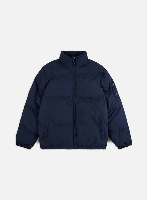 Winter Jackets Fila Turi Denim Puffa Jacket
