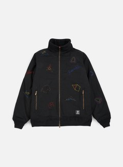 Franklin & Marshall - All Over Embroidered Jacket, Black 1