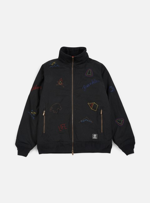 Intermediate Jackets Franklin & Marshall All Over Embroidered Jacket