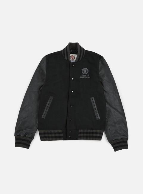 Giacche Intermedie Franklin & Marshall Logo Baseball Jacket