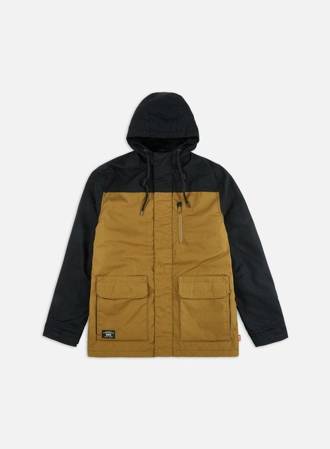 Globe Blocked Thermal Parka