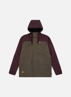 Globe - Goodstock Blocked Parka II Jacket, Dusty Olive