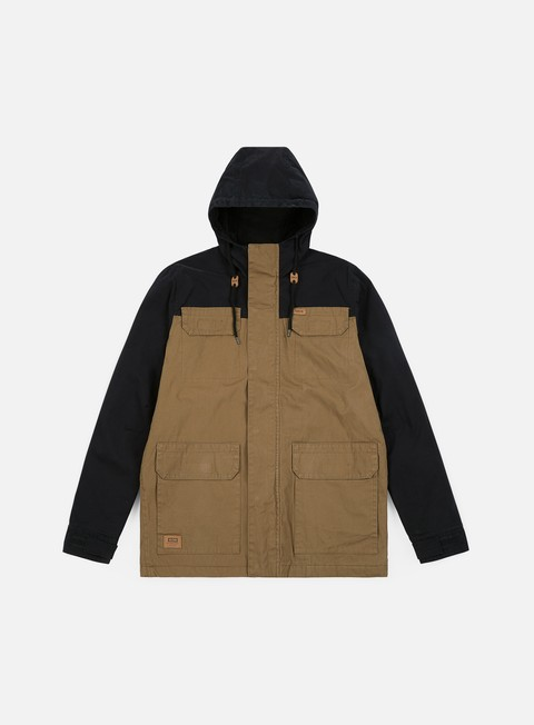 giacche globe goodstock blocked parka ii jacket hazel