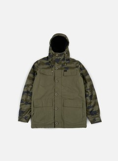 Globe - Goodstock Blocked Parka Jacket, Army