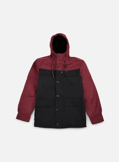 Globe - Goodstock Blocked Parka Jacket, Black 1