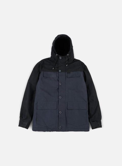 Hooded Jackets Globe Goodstock Blocked Parka Jacket