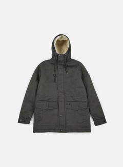 Globe - Goodstock Thermal Fishtail Jacket, Dark Olive 1