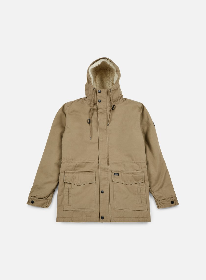 Globe - Goodstock Thermal Fishtail Jacket, Desert